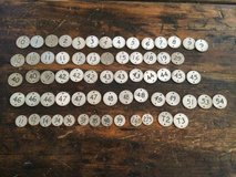 vintage round metal  tags in Westmont, Illinois