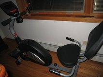 IronMan Recumbent Exercise Bike - Like New Condition! in Naperville, Illinois