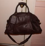 COACH Brown Leather Overnight Duffle Travel Bag in Fort Campbell, Kentucky