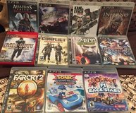 PS3/PS2/PSP games (Mostly New) in Okinawa, Japan