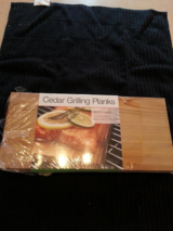 3 CEDAR GRILLING PLANKS NIP in Naperville, Illinois