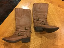 Reduced: Girls Tall Brown Boots in Naperville, Illinois