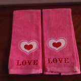 Valentine's Day Towels in Plainfield, Illinois