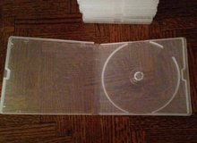 10 Clear Poly DVD/CD Cases in Bolingbrook, Illinois