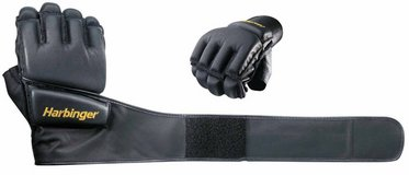 Harbinger 320 Bag Glove WristWrap (Black) in Leesville, Louisiana