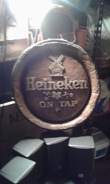 Heineken man cave in Beaufort, South Carolina