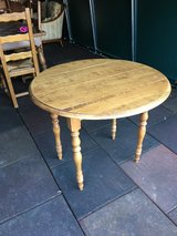 antique table solid wood to pull out from France in Ramstein, Germany