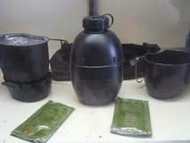 canteen, cooking kit in Fort Polk, Louisiana