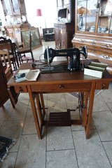 antique Phoenix sewing machine in Spangdahlem, Germany
