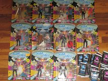 11 Star Trek The Next Generation Figurines / Dolls In The Box And Collector Cards in Alamogordo, New Mexico