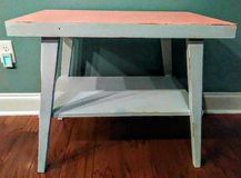 Coral and Light Gray Lane Table in Wilmington, North Carolina