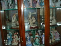 figureens and curio cabinet in Orland Park, Illinois
