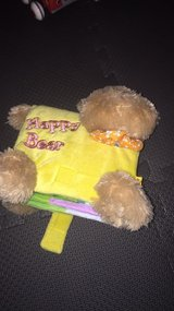 Happy Bear fabric baby book in Naperville, Illinois