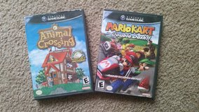 gamecube animal crossing or mario kart in Naperville, Illinois