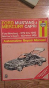Ford Mustang & Mercury Capri Haynes Manual in Alamogordo, New Mexico