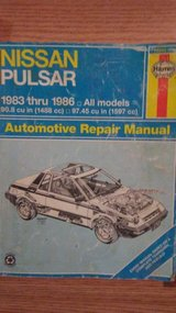 NISSAN PULSAR  Haynes manual  1983-1986 in Alamogordo, New Mexico