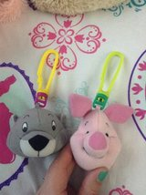 Gopher and Piglet Backpack Clips in Lockport, Illinois