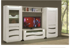 Wave - Entertainment 53 inch TV. Section - price includes delivery Spangdahlem Area in Spangdahlem, Germany