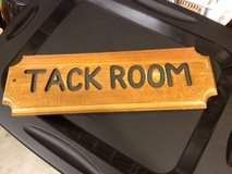 Hand Carved Sign in Travis AFB, California
