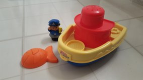 Fisher Price Bathtub boat in Aurora, Illinois