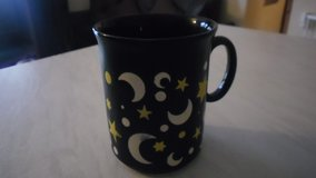 moon and star mug in Lakenheath, UK