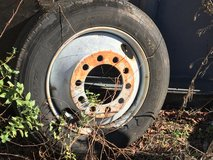 Tractor Trailer Tire and Rim in Byron, Georgia