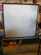 %%  Vintage Projection Screen  %% in Yucca Valley, California