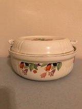 Halls Covered Casserole with Lid (Crocus) in Houston, Texas