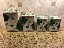Canister Set (Ceramic) - 4 piece in Kingwood, Texas
