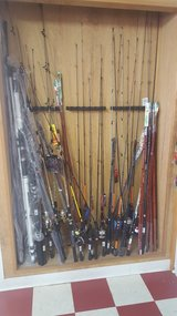 Rods and reels in Leesville, Louisiana