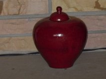"red ginger jar 8""x8"" in Bolingbrook, Illinois"
