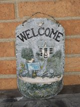 "welcome plaque 10.5x6.5"" in Lockport, Illinois"