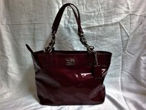 Red Coach Purse with dust bag in Camp Lejeune, North Carolina