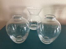 Small Clear Glass Vases in Joliet, Illinois
