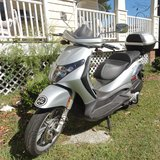 2007  Piaggio BV 250 Motorcycle 3-23available now in Wilmington, North Carolina