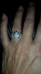 Wedding ring with baggetts in Spring, Texas