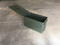 Old Ammo cans in Alamogordo, New Mexico