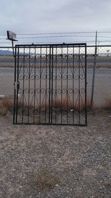 Wrought Iron Security Door for your sliding glass door in Alamogordo, New Mexico