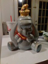 Dumbo circus Disney China cookie jar in Fort Campbell, Kentucky