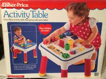 Fisher Price Activity Table 2-in-1 in box in Naperville, Illinois