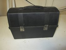 Vintage Black Aladdin Lunch Box, Dome top in St. Charles, Illinois