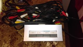Radio Shack 4-Way Audio/Video Selector with 8 cords in Lawton, Oklahoma