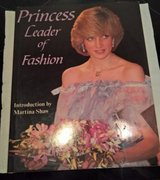 Princess Leader of Fashion Book by Martina Shaw Year 1983 hard back cover in Ramstein, Germany
