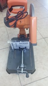 "Ridgid 14"" Abrasive cut off saw...brand new in Yucca Valley, California"