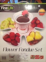 Flower Fondue Set in Fort Campbell, Kentucky