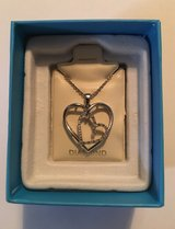 Double Heart Necklace in Fort Knox, Kentucky