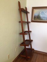 Ladder bookshelf (pic 1) in Lawton, Oklahoma
