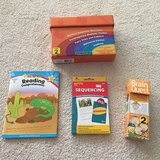 Reading comprehension 2nd grade level books and flash cards in Joliet, Illinois