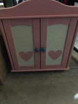 Doll armoire / American Girl in Naperville, Illinois