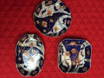 Set of 3 Japanese Trinket Holders/Dishes in Chicago, Illinois